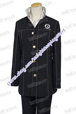 Shin Megami Tensei: Persona 4 P4 Cosplay Boy Uniform Costume Halloween In Stock
