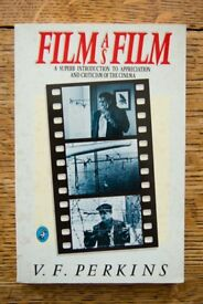 Film As Film: Understanding And Judging Movies by V. Perkins, Film Studies Book