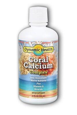 Liquid Coral Calcium Complex Dynamic Health 32 oz Liquid Dynamic Health Coral Calcium Complex