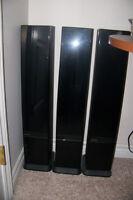 CD Holder Cases - 3 vertical units, black
