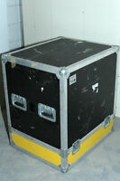 Road travel case Clydesdale coffre valise transport capitonné