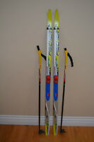 Kids Fischer Nordic / Cross-Country Ski Set - 140