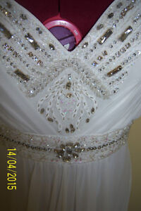 GREAT OPPORTUNITY! Wedding chiffon dress -size L West Island Greater Montréal image 5
