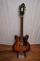RARE VINTAGE HAGSTROM ELECTRIC HOLLOW BODY GUITAR