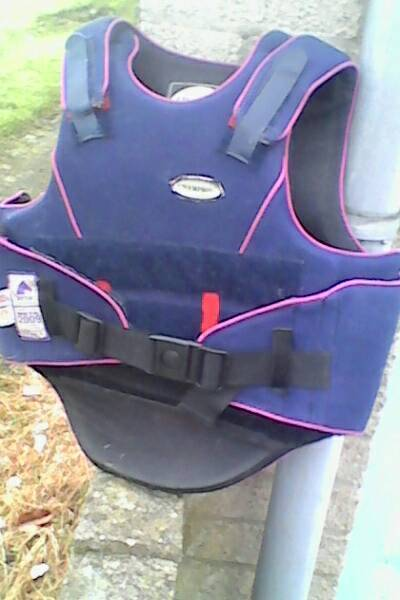 Childs body protector. Horse riding