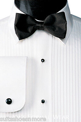 New Black Satin Adj. Metal Hook and Eye Tuxedo Bow Tie Pre Tied Banded shirt
