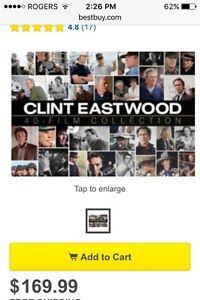 * Clint Eastwood 40 Film Collection * Peterborough Peterborough Area image 3