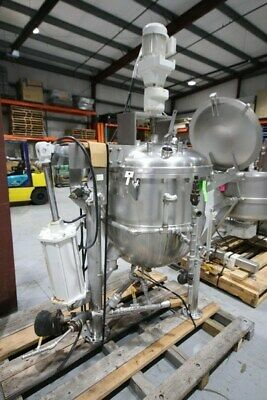 125 Gallon Groen Jacketed Vacuum Kettle With Scrape Mixer