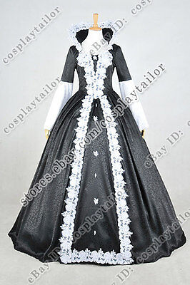 Once Upon A Time Season 4 Finale Evil Snow White Dress Cosplay Costume