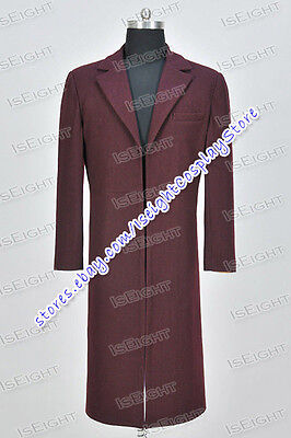 Who Is Doctor Cosplay The 11th Eleventh Dr Matt Smith Costume Coat - Eleventh Doctor Halloween Costume