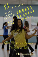 GROOVE fitness/dance classes