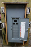 Temporary Electric Panel