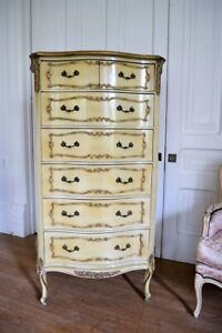 Antique Fancy French Lingerie Chest Dresser