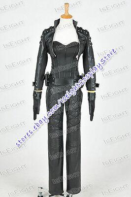 Green Arrow Cosplay Black Canary Sara Lance Costume Uniform Full Set - Arrow Black Canary Costume