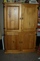 Armoire/TV Unit and Coffee Table - great for the family room!