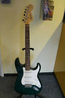 Fender Squier Strat Electric Guitar - Plays Great - Amp - Extras