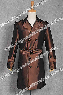 Watchman Cosplay Costume Rorschach Trench Coat High quality And Comfortable