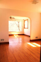 AVAILABLE NOW...Large 1st floor, 3 Bedroom  flat with Hardwood
