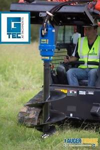 Skid Steer Auger Package - Augertorque 3500MAX + Hitch + 300mm Melbourne CBD Melbourne City Preview