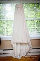 Strapless Wedding Dress - Size 8