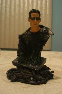 Figurine Buste de Neo de la Matrice - Keanu Reeves