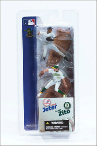 "MCFARLANE MLB 3"" FIGURES, SERIES-1, 2 PACK, 12 Pcs, 2004"