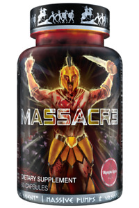 OLYMPUS LABS MASSACR3 NATURAL ANABOLIC MUSCLE BUILDER