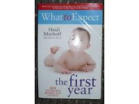 Bundle of 4 books about baby: Gina Ford, Heidi Murfoff, Sharon Mazel, Annette Karmiloff-Smith. VGC!