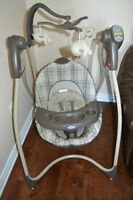 graco swing great condition