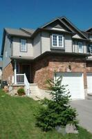 Beautiful End Unit townhouse for rental-Huron Village Area
