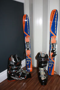 NEUF: Snowblade Salomon et bottes Head