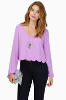 TOBI Orchid Womens Top