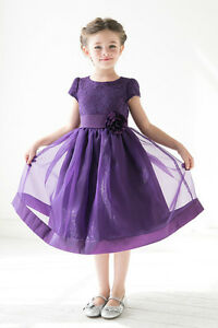 Flower Girl and Jr. Bridesmaid Dresses