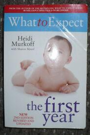 Bundle of 4 books about baby: Gina Ford, Heidi Murkoff, Sharon Mazel, Annette Karmiloff-Smith. VGC!