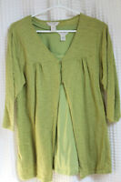 Maternity ¾ length light weight cardigan with matching tank