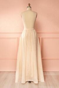 Jupe longue taille haute (mariage, bal, soirée) (grandeur: S/M)