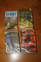 JRR Tolkien Lord of the Rings Trilogy & The Hobbit