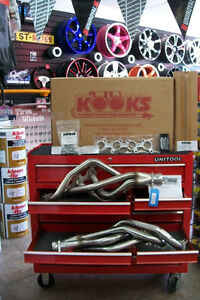 "Ford Mustang V8 5.0L Kooks Stainless Headers Long Tube 1 3/4"" 3"""