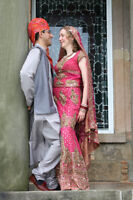 East Indian wedding dress - Lehenga, size 8