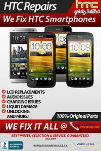 HTC - LG - BLACKBERRY - SONY PHONE REPAIRS - BEST PRICES - CALL