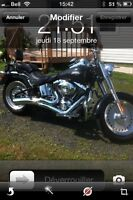 Want a harley? You find it! Fatboy FLSTF 2009 like new condition