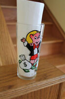 Richie Rich Pepsi glass from 1970s