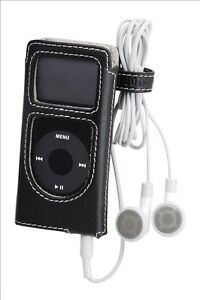 Roots iPod Nano 2nd Gen Case - Black Leather