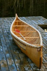 Canot d'écorce 15' modèle algonquin traditionnel Saguenay Saguenay-Lac-Saint-Jean image 2