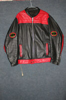 Leather Batman Motorcycle Jacket