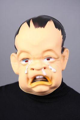 Maske weinendes Baby Kleinkind Kind Halloween Deko Gesicht Face Karneval neu (Baby Maske Halloween)