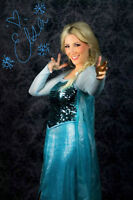 FROZEN PRINCESS CHARACTERS - LIVE PERFORMERS/ENTERTAINERS