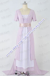 Titanic-Rose-DeWitt-Bukater-Cosplay-Costume-Movie-Swim-Gown-Tail-Dress-Tailored