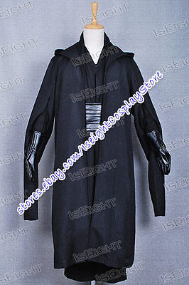Star Wars Cosplay Costume Black Uniform Suit Outfit Halloween High Quality](High Quality Star Wars Costumes)