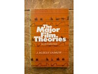 Major Film Theories: An Introduction by J. Dudley Andrew (Film Studies Book)